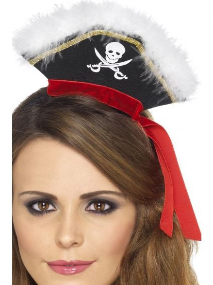 Pirate Mini Hat